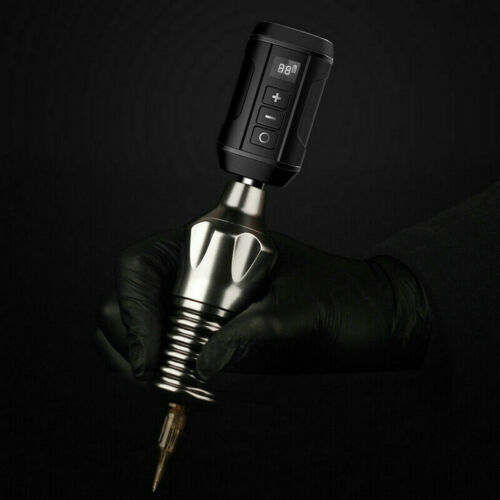 как выглядит For Tattoo Machine Pen RCA / DC New Wireless Tattoo Power Supply Battery Pack фото