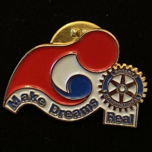 Rotary International Pin MAKE DREAMS REAL 2008-09 Theme