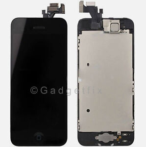 Touch Screen Glass Digitizer LCD Display Replacement Assembly for iPhone 5 USA