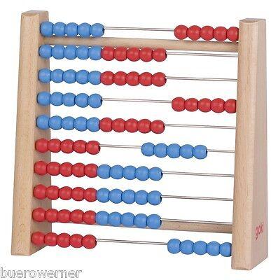 Abakus 10 Reihen 100 Perlen Rechenmaschine Holz Rechenrahmen Rechenschieber