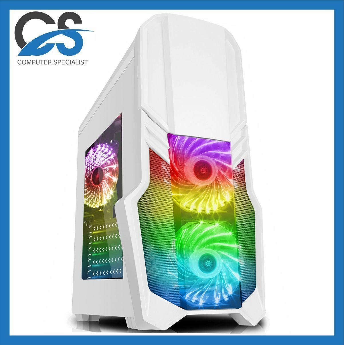 GForce Gaming PC Computer Intel i7 11700 11th Gen 2TB HDD 32GB RAM 6GB GTX 1660