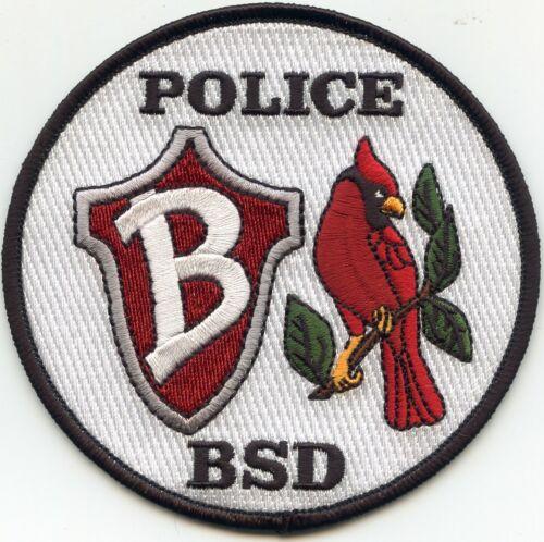 BEAVERTON SCHOOL DISTRICT BSD OREGON OR POLICE PATCH