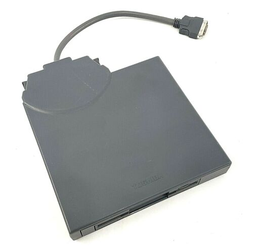 Toshiba External Removable FDD Attachment Case With Floppy Drive PC Gray