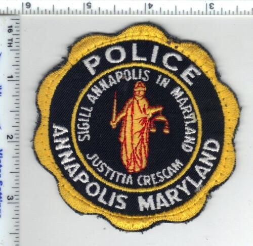 Annapolis Police (Maryland) Uniform Take-Off Shoulder Patch new from the 1980