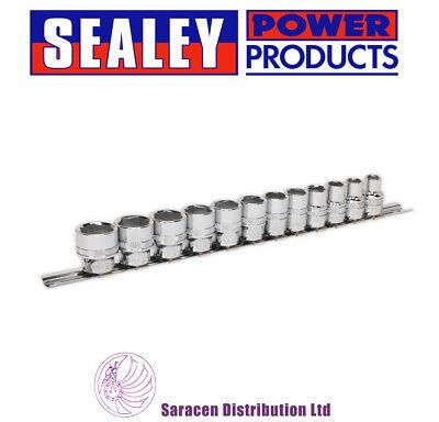 Sq Drive Socket Set (SEALEY SOCKET SET 12PC 3/8