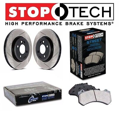 For Honda S2000 2000-2009 Front StopTech Slotted Brake Rotors Street Pads for sale  Shipping to Canada