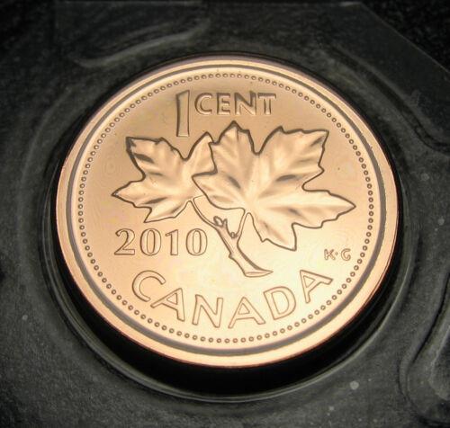 RCM - 2010 - 1-cent - Magnetic - NBU ( Proof Like ) - Sealed in original plastic