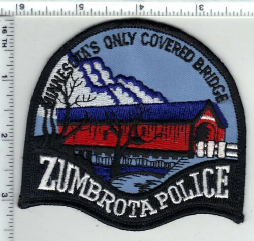 Zumbrota Police (Minnesota) 2nd Issue Shoulder Patch