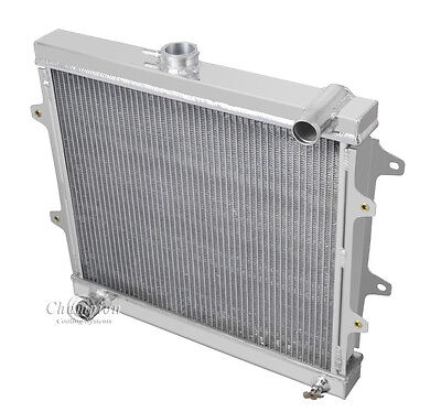 2 Row All Aluminum DR Champion Radiator For 1984   95 Toyota Pickup4Runner