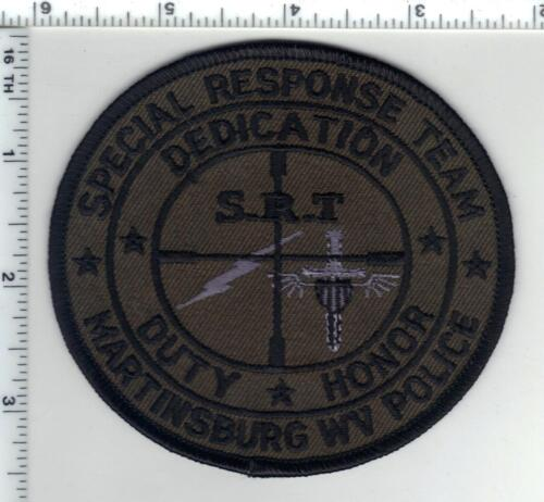 Martinsbrug Police (West Virginia) 1st Issue Special Response Team Patch