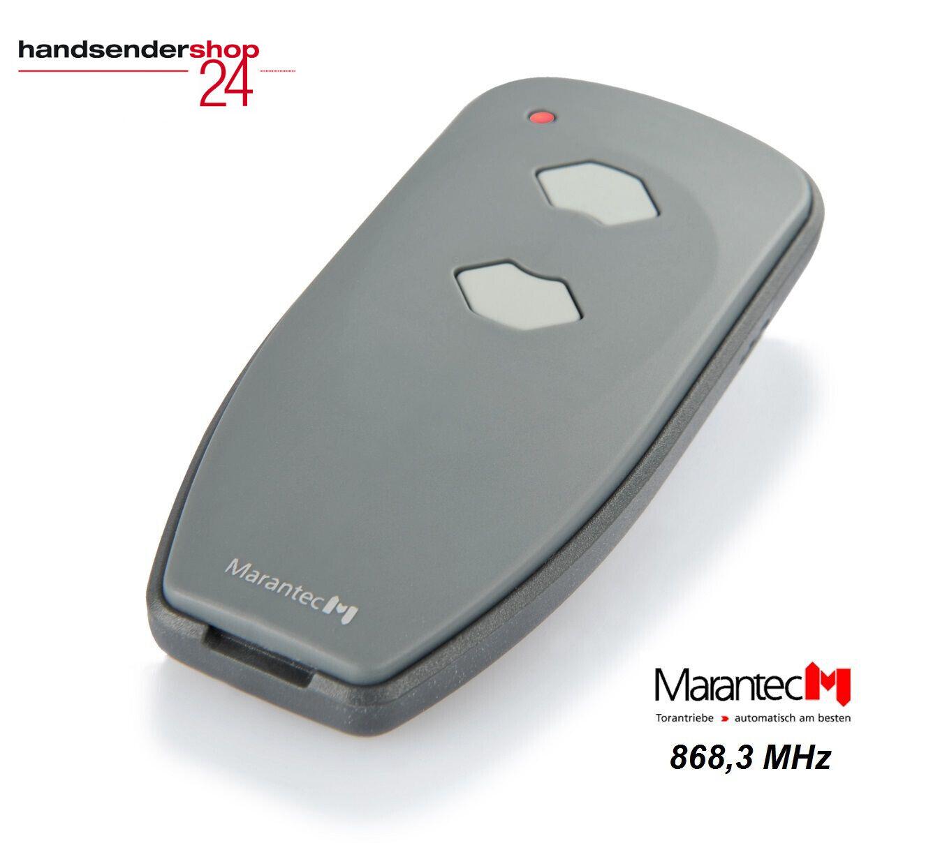 Marantec Digital 302 Handsender 382  Fernbedienung 868,3 MHz Funk Tor