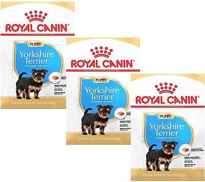 Royal Canin Yorkshire Terrier Puppy / Junior Welpenfutter: 3 x 1,5 kg = 4,5 kg (Yorkshire Welpen)