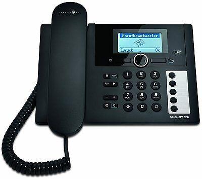 T-Concept PA624i ISDN Telefon mit Anrufbeantworter Tischtelefon Schnurgebunden
