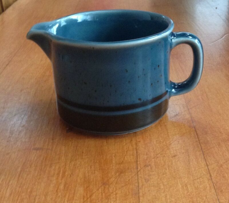 Arabia Finland Meri Blue Creamer Mug