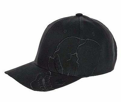 Black Skull Skateboard Biker Skeleton Motorcycle Punisher Baseball Ball Hat Cap (Skeleton Hat)