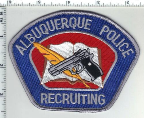 Albuquerque Police (New Mexico) 2nd Issue Recruiting Shoulder Patch