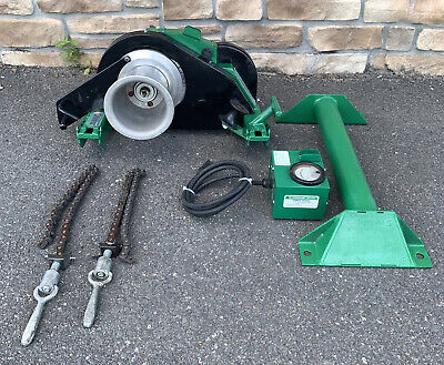 Greenlee 6000 6001 6500 Lbs Super Tugger Cable Puller Great Shape