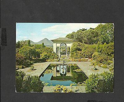 J.Arthur.Dixon Colour Postcard Italian Gardens Garinish Island Co Cork Ireland