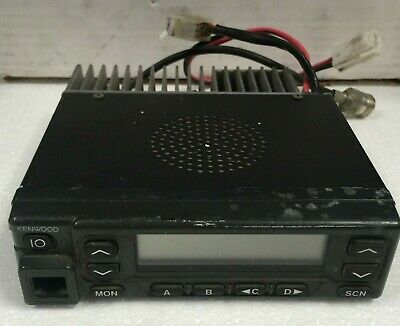 Kenwood Tk-981 Uhf Fm Transceiver Mobile Radio Testedas Pictured