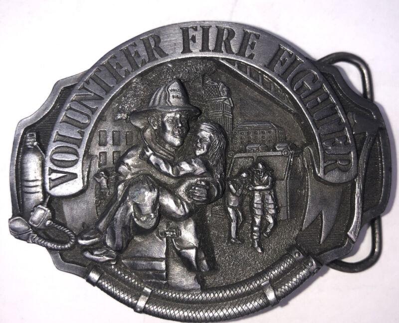 1990 Arroyo Grande Buckle Co. Volunteer Firefighter Ag49