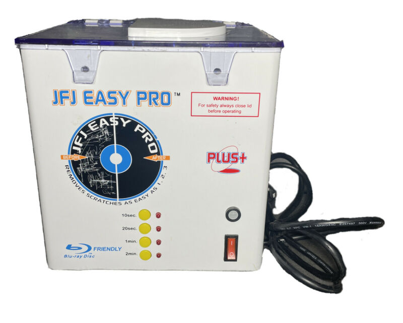 JFJ Easy Pro Disc Cleaner And Repair System - JFJEAS (Machine ONLY)