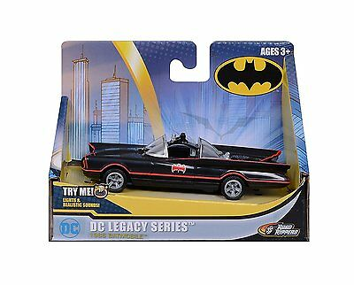 DC Legacy Series 1966 Bat Mobile Batman Car Lights & Sounds