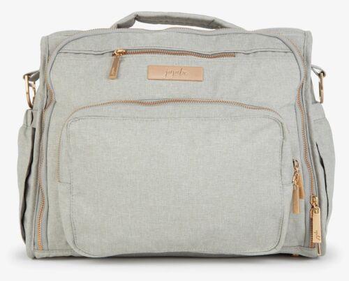 Ju Ju Be Chromatics 3.0 BFF Baby Diaper Bag Backpack w/ Changing Pad Pebble NEW