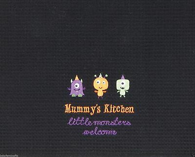 C & F Halloween Trick or Treat Mummy's Little Monster Kitchen 18x27