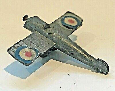 ✈️ Vintage Slush Cast Lead ALLIED AIRCRAFT Model Toy Roundles Harvard WW2 WW1