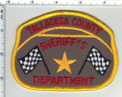 Talladega County Sheriff (Alabama) 2nd Issue Shoulder Patch