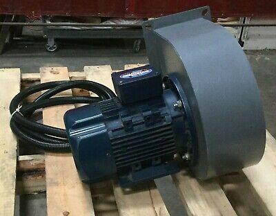 Industrial Blower W Leeson 1 Hp Iec Metric Motor 230460v 33902760 Rpm