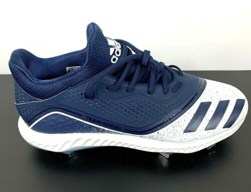 Adidas  Icon V Bounce W Metal Softball Cleats Blue White G28306 Womens Sz10 NWT