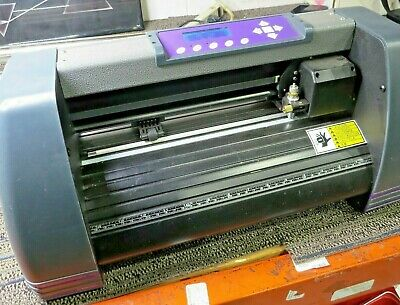 U.s. Cutter Mh365-mk2 Vinyl Cutting Plotter -----c41