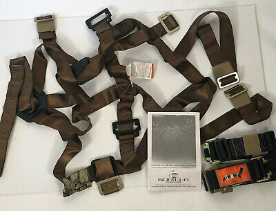 Gorilla Lineman Full-body Safety Harness 43067 With Fixed Shoulder Strap