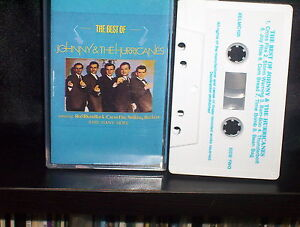 JOHNNY-and-the-HURRICANES-THE-BEST-OF-RARE-CASSETTE-NM