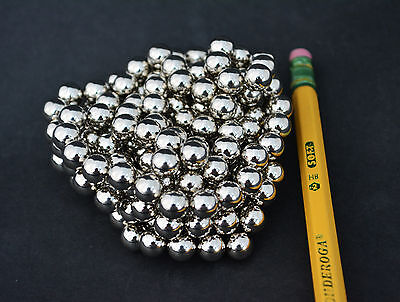 15 Strong Magnets Spheres Balls 8mm 516 Neodymium - Us Seller