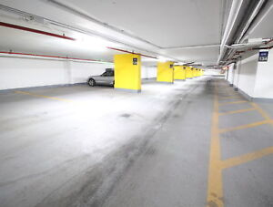 Downtown indoor parking spaces $175/month