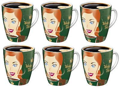 6x Ritzenhoff Sammelbecher 15. Edition limitiert Jacobs Kaffee Tasse Becher bunt