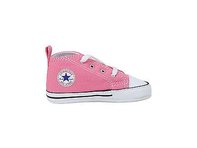 Converse New Borns Cribs Infant Babies Baby First Star Shoes Pink Girls Booties