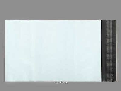 20 Poly Shipping Envelopes Pouches White Mailing Bags 4.3