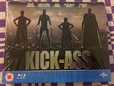 Kick Ass Blu Ray Steelbook   Region Free   Uk Play Com Exclusive   Brand New