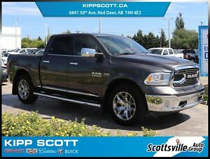 2017 Ram 1500 Laramie Limited Crew 4x4, Leather, Nav, Sunroof
