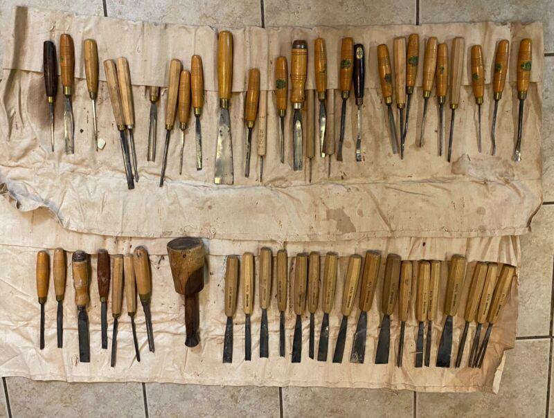 Pfeil wood carving tools, Henry Taylor, Ashley Iles
