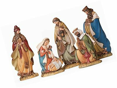 Joseph's Studio by Roman - 5-Piece Slim Profile Nativity Set, Includes Holy F...
