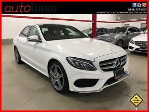 2016 Mercedes-Benz C-Class C300 4MATIC PREMIUM PLUS SPORT LED