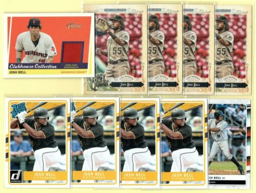 SP pr 250 JOSH BELL Pittsburgh Pirates most since Mays 2019 Topps NOW #307