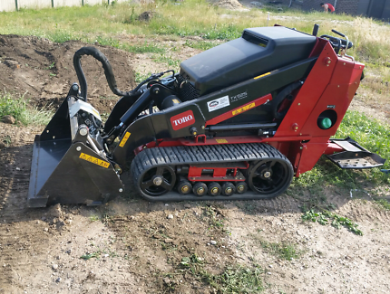 Toro TX525 wide track for hire.