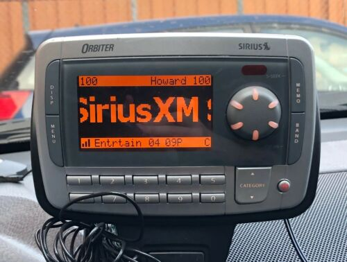 SIRIUS XM Orbiter Radio Receiver SR4000 w/ Accessories - Activated Lifetime Sub