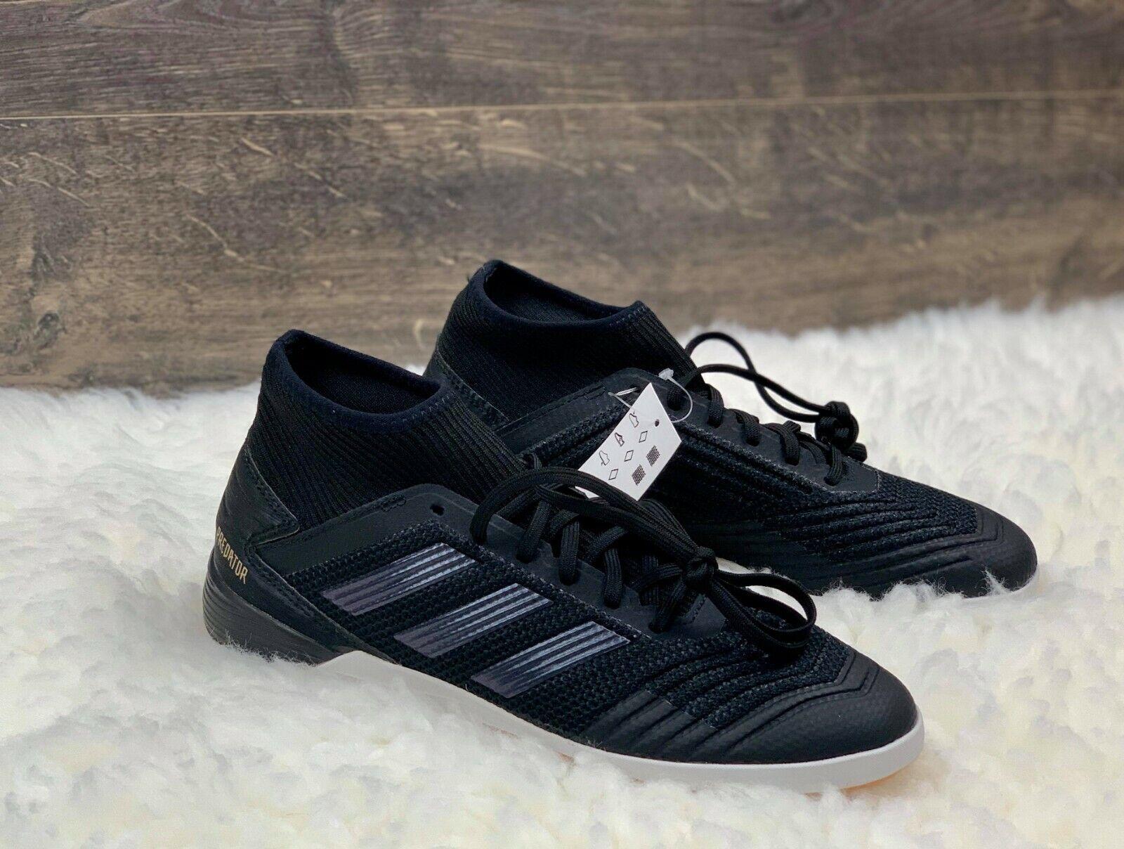 Adidas Predator Tango 19.3 IN Men's Indoor Soccer Shoes Blac