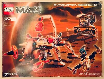 LEGO Set #7316 Space: Life on Mars: Excavation Searcher - 100% Complete W/Box